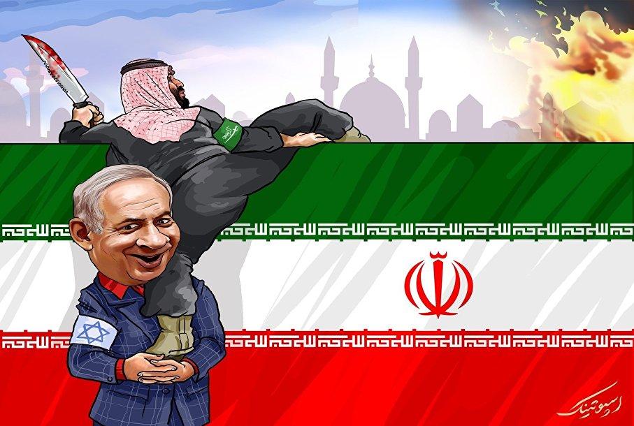 عکس خبري -آمريکا و اسرائيل حاميان حادثه تروريستي اهواز / کاريکاتور