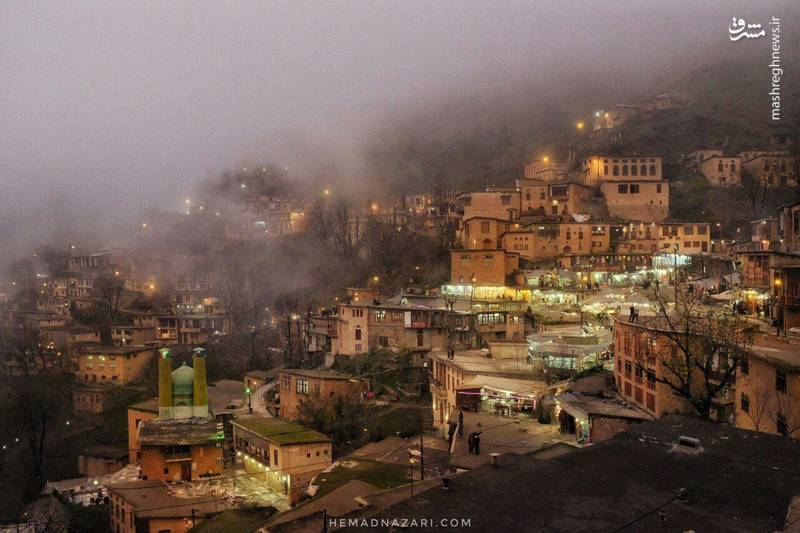عکس خبري - تصويري شگفت انگيز از ماسوله