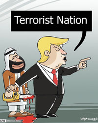 عکس خبري -ترامپ لب به سخن گشود