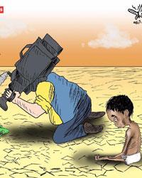 عکس خبري - سکوت رسانهاي جهان در قبال قحطي در يمن