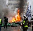 عکس خبري -جنگ خياباني در پاريس جليقه زردها بازگشتند