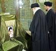 عکس خبري -حضور رهبر انقلاب اسلامي در مرقد مطهر امام راحل و گلزار شهداي بهشت زهرا
