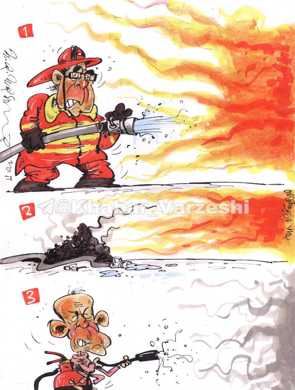 عکس خبري - برانکو: چهارسال آتش نشان پرسپوليس بودم