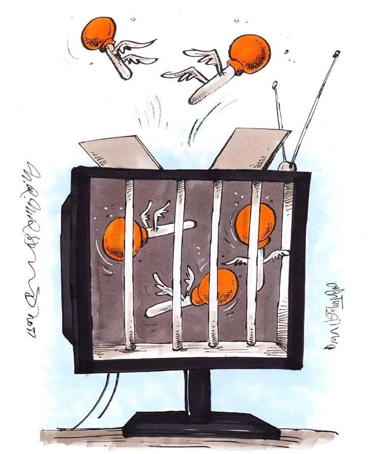 عکس خبري -بعد از عادل، مزدک هم از تلويزيون پريد!