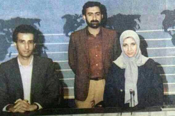عکس خبري -عکس قديمي از سه گوينده اخبار