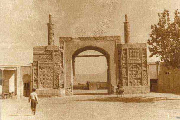 عکس خبري - عکس / دروازه دولاب تهران در سال هاي دور