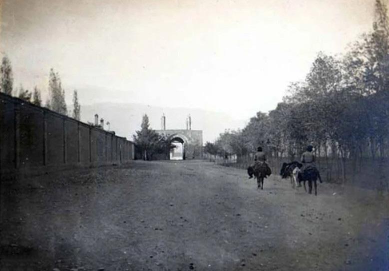 عکس خبري - عکسي ديده نشده از دروازه يوسف آباد تهران