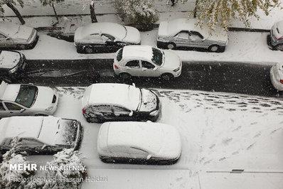 عکس خبري - تصاوير / برف و ترافيک!