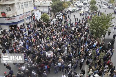 عکس خبري -تصاوير / اعتراضات به گران شدن بنزين