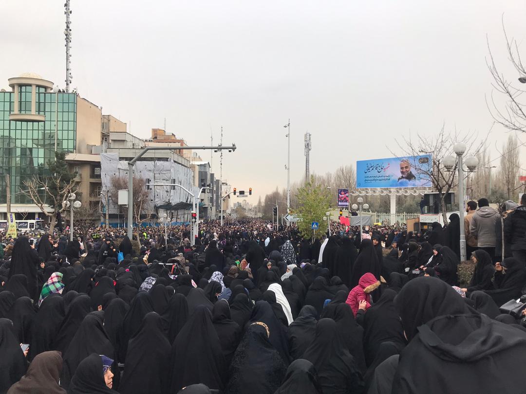 عکس خبري -گزارش تصويري اختصاصي از نمازجمعه به امامت امام خامنهاي