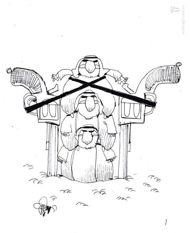 عکس خبري -کاريکاتور/ سعوديها ايران را تهديد کردند!