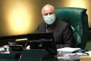 عکس خبري -پاسخ قاليباف به تذکر يک نماينده مجلس درباره تفريغ بودجه ????