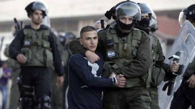 عکس خبري -ربوده شدن 6 فلسطيني توسط رژيم اسرائيل