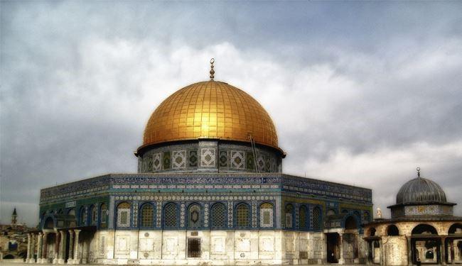 عکس خبري -تعرض شهرک نشينان صهيونيست به مسجد الاقصي