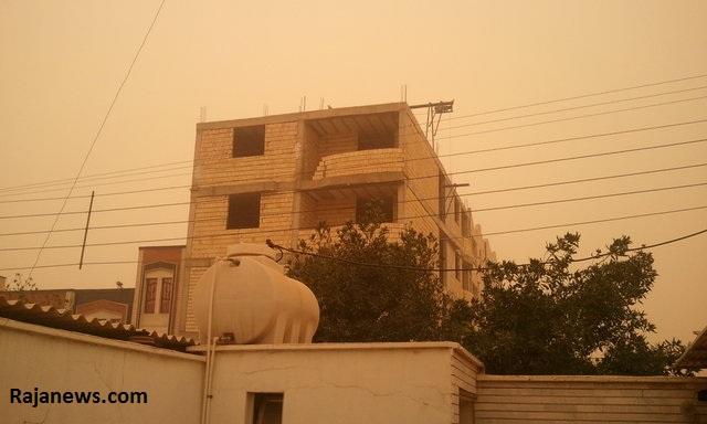 عکس خبري -گرد و خاک اهواز را تعطيل کرد