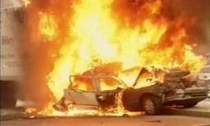 عکس خبري -دو انفجار مهيب در شهر سليمانيه کردستان عراق