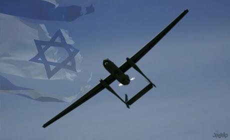 عکس خبري -بازتاب شکار پهباد اسرائيلي توسط سپاه در رسانههاي بيگانه