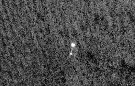 عکس خبري -فضاپيمايي که پس از ?? سال پيدا شد