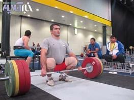 عکس خبري -بازنشستگي اجباري وزنهبردار ايران در 27 سالگي!