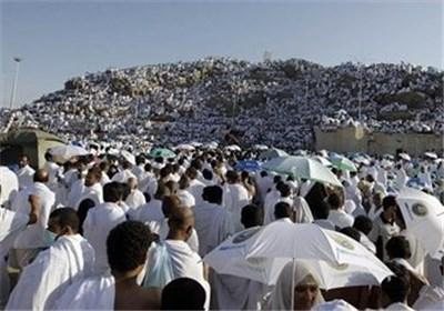 عکس خبري - آغاز مراسم برائت از مشرکين در صحراي عرفات