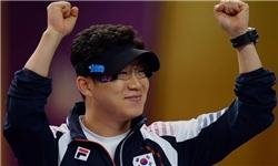 عکس خبري -تيرانداز کره با رکوردشکني در تپانچه 50 متر مدال طلا گرفت