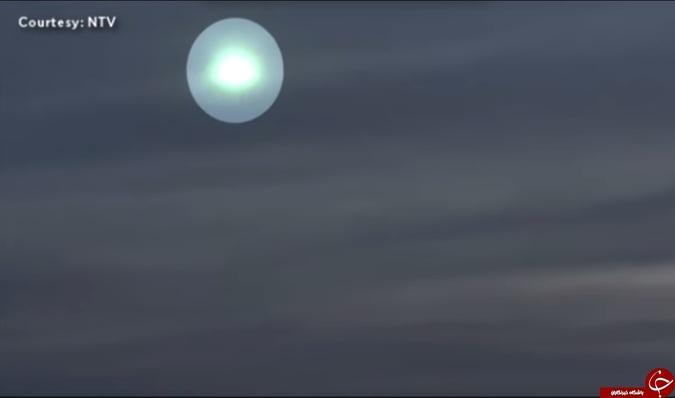 عکس خبري -مشاهده شيء نوراني در آسمان ژاپن + عكس