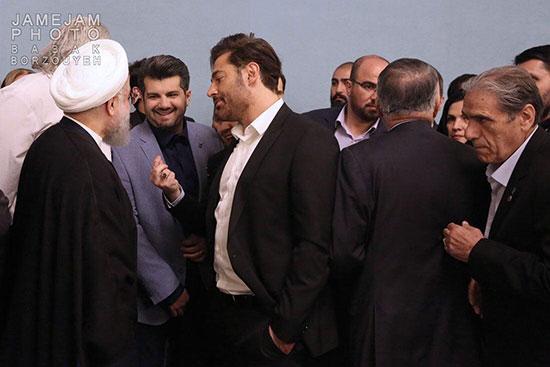 عکس خبري -گلزار در مراسم افطاري به رئيسجمهور چه گفت؟