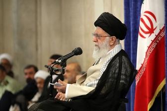 عکس خبري - رهبر معظم انقلاب: جنگي رخ نخواهد داد/ مذاکره سمّ است؛ گزينه قطعي ملت ايران مقاومت است