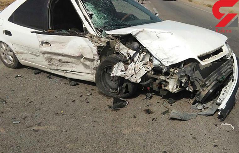 عکس خبري -سرعت زانتيا حادثه آفريد