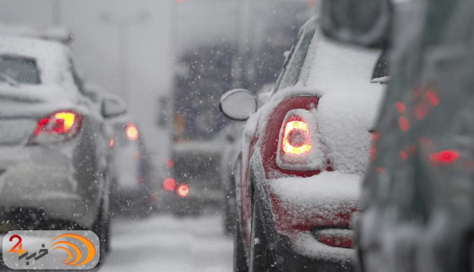عکس خبري -در شرايط برفي چگونه رانندگي کنيم؟