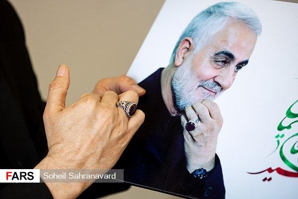عکس خبري -راز سالم ماندن دست و انگشتر سردار سليماني/ قبل از شهادت ? روز تمام در اختيار خانواده بود