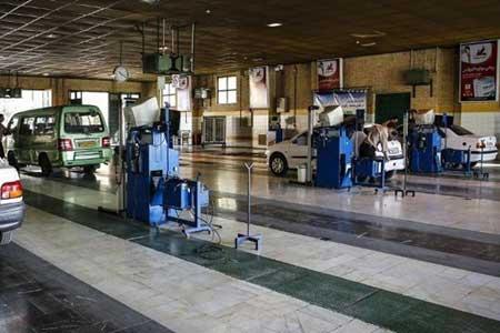 عکس خبري -معاينه فني روزانه 7 هزار خودرو در تهران