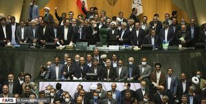 عکس خبري -در آخرين جلسه علني مجلس دهم چه گذشت؟