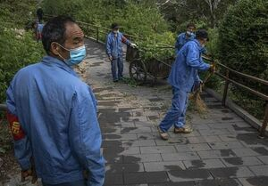 عکس خبري -ضربه شديد کرونا به اقتصاد چين؛ بيکاري ??? ميليون کارگر