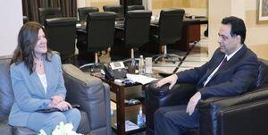 عکس خبري -ادامه دخالت آمريکا در لبنان با نسخهپيچي جديد