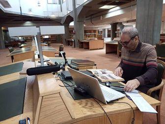 عکس خبري -جواد خياباني مستند ورزش ايران را ميسازد