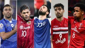 عکس خبري -رقابت طارمي و رضايي با هالک و خريبين
