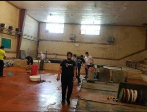عکس خبري -بازديد حراست اداره ورزش البرز از سالن جنجالي/ يک وزنه بردار ديگر به کرونا مبتلا شد