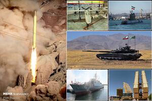 عکس خبري -آمادگي ايران براي صادرات نظامي/سبد نيروهاي مسلح براي تجارت جهاني