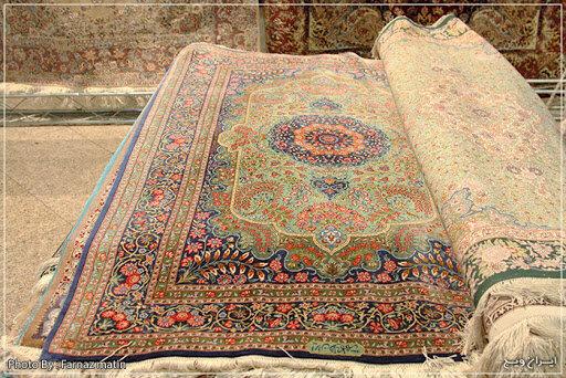 عکس خبري -?? هزار مترمربع فرش دستباف در چهارمحال و بختياري توليد شد
