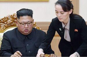 عکس خبري -خواهر کيم: مذاکره با آمريکا غيرضروري است
