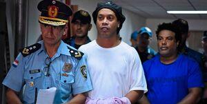 عکس خبري -رد درخواست رونالدينيو براي خروج از حبس