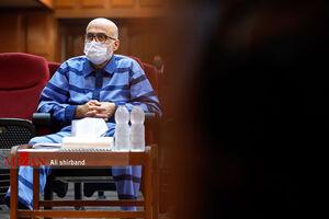 عکس خبري -دهمين جلسه رسيدگي به اتهامات اکبر طبري