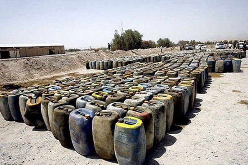 عکس خبري -?? هزار ليتر سوخت قاچاق در ماکو کشف شد