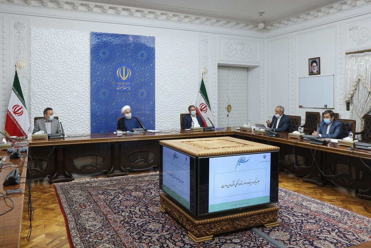 عکس خبري -روحاني: اداره کشور با کمترين اتکا به نفت، قدرتنمايي ايران در جنگ اقتصادي است