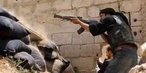 عکس خبري -درگيري ميان گروههاي تحت حمايت ترکيه و آمريکا در سوريه