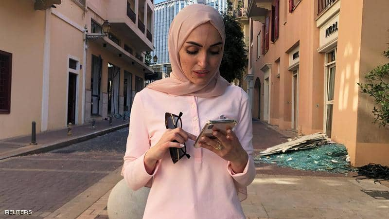 عکس خبري -روايت عروس مشهور انفجار لبنان از جزئيات حادثه