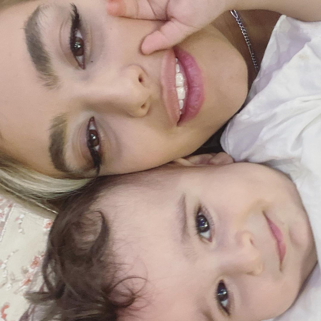 عکس خبري - عکس «ريحانه پارسا» با يک کوچولوي ناز