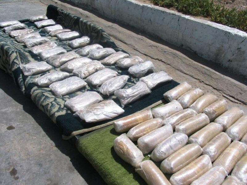 عکس خبري -بيشاز يک تن مواد مخدر در ايرانشهر کشف شد