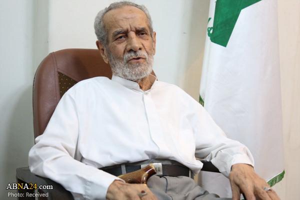 عکس خبري -مرحوم عرب يک مبارز و مجاهد واقعي بود